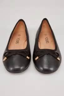 Sepatu Original Blackmaster Mt Slip On Loafers Big Sale black comfort insole ballerina with bow detail in true eee fit