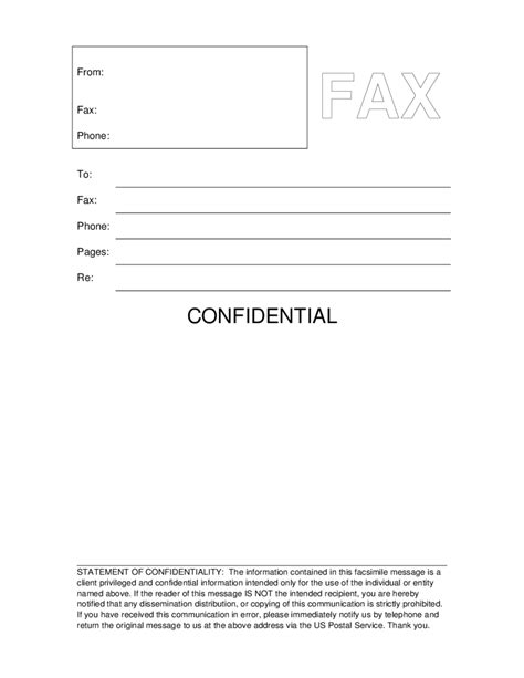 free fax cover sheet template customize online then print in sample