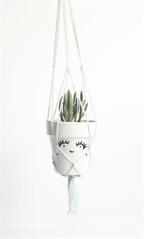 How To Macrame A Plant Hanger - 5 macrame plant hanger diy for your home