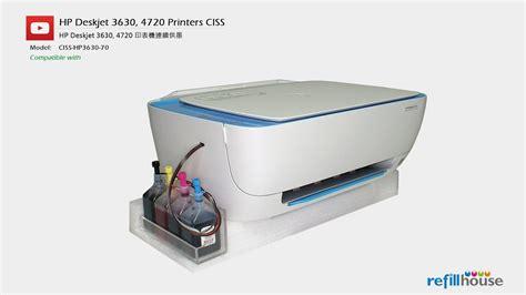 Tinta Printer Hp Deskjet 2135 hp deskjet 2130 2135 3630 3635 4720 ciss hp 63 302