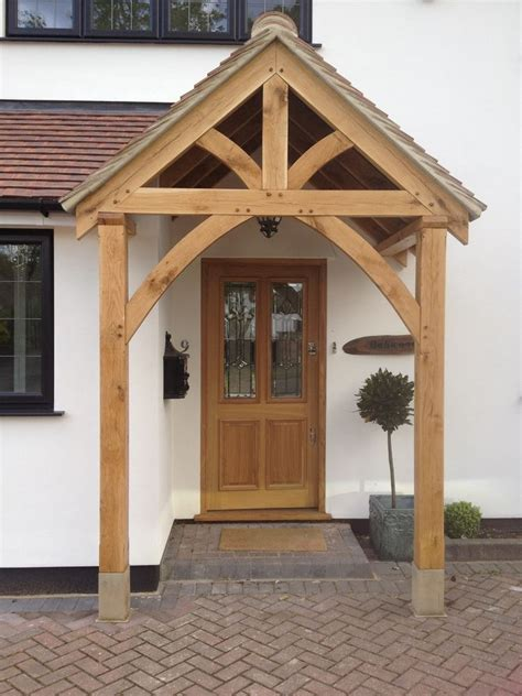 Front Door Awning Ideas Pictures by Bespoke Green Oak Porch Front Door Canopy Handmade In Shropshire Quot Grosvenor Quot Ebay