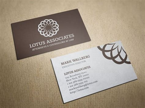 stunning business cards  lawyers design templates