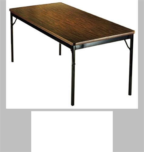 24 x 96 folding table customizable fixed height folding table