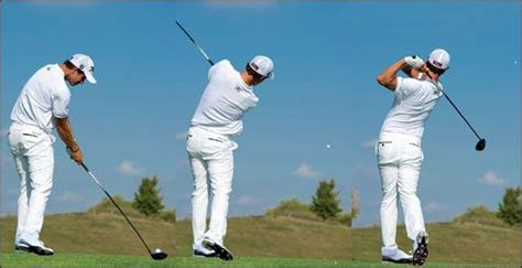 classic golf swing a modern classic adam scott swing sequence golf swings