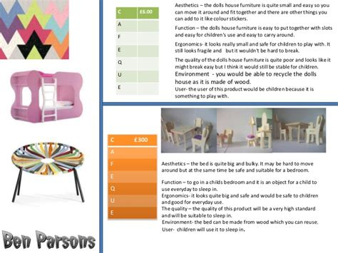 product design gcse powerpoint ben parsons gcse product design ppt