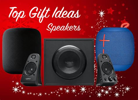 holiday gift guide  speakers