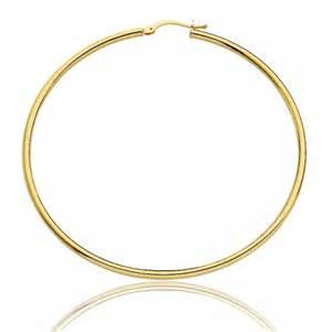 boucles d oreilles cr 233 oles pour femme en or jaune massif