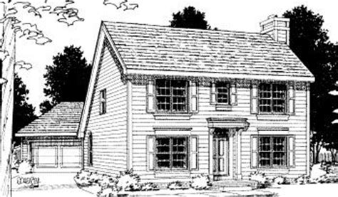 saltbox house plans with garage colonial saltbox home colonial saltbox house plan 68694