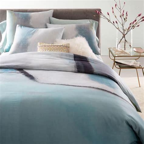 west elm bedding sale 400 thread count organic sateen colorscape duvet cover