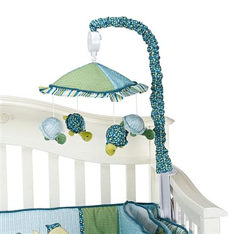 Cocalo Turtle Reef Crib Bedding Buy Cocalo Baby 174 Turtle Reef Musical Mobile From Bed Bath Beyond