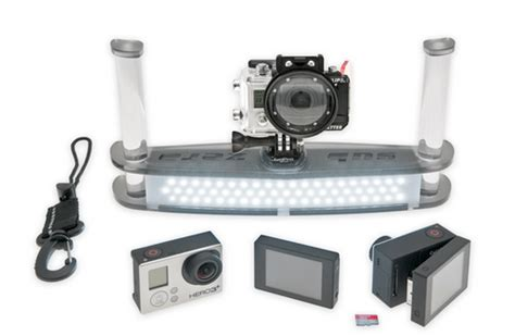 Gopro Zero sub zero gopro underwater rig and the backscatter