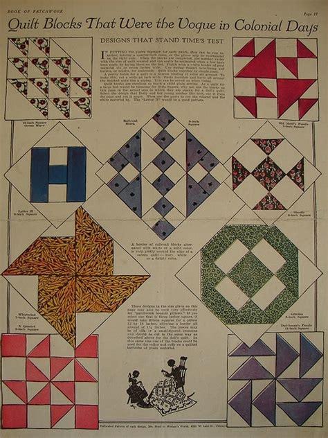Classic Quilt Blocks by Vintage Quilt Block Patterns
