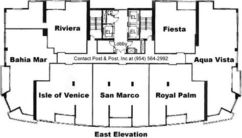las olas beach club floor plans las olas place floor plans