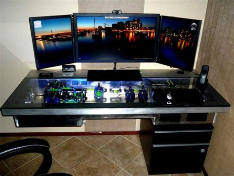 Computer Inside Desk Inspiring Gaming Computer Desks Ideas Home Interior Exterior