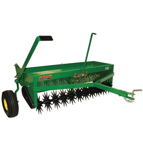 deere 40 in tow combination aerator spreader