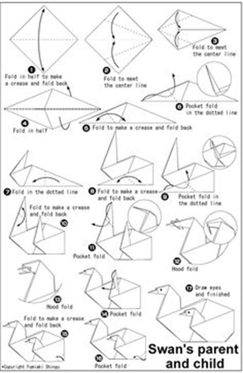 Origami Swan Printable - 1000 images about origami on origami swan 3d
