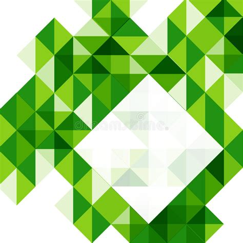 geometric layout design vector green modern geometric design template stock vector