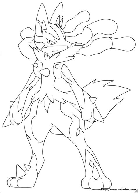 pokemon coloring pages of mega lucario pokemon mega lucario coloring pages images pokemon images