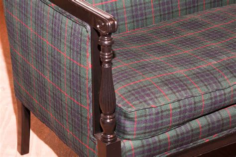 tartan sofas for sale tartan loveseat for sale at 1stdibs