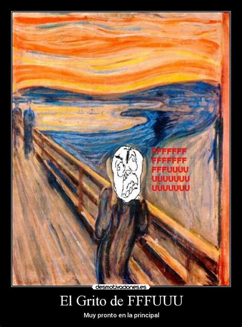 el grito de la im 225 genes y carteles de munch desmotivaciones