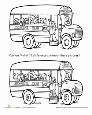 printable travel activity sheets spot the difference back to school worksheet