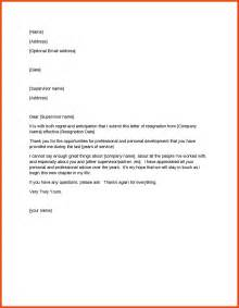 Best Resignation Letter In 10 Professional Resignation Letter Sponsorship Letter