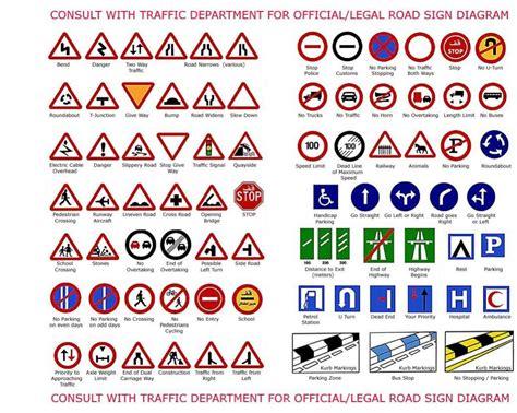 printable road sign flash cards uk ingilizce trafik işaretleri ve anlamları resimli
