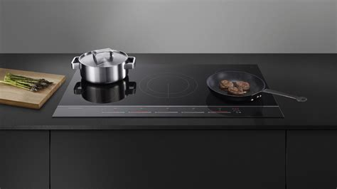 fisher paykel cm  zone induction cooktop black