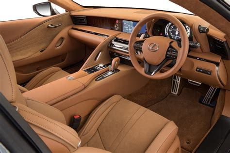 lexus lc interior lexus lc 500 500h on sale in australia from 190 000
