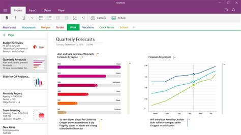 microsoft onenote microsoft updates onenote for windows 10 with section
