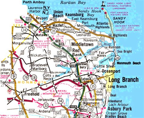 jersey shore map new jersey shore beaches map pictures to pin on pinsdaddy