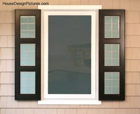 home exterior design windows exterior window shutter designs housedesignpictures com