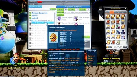 maplestory android maplestory crafting deluxe android my