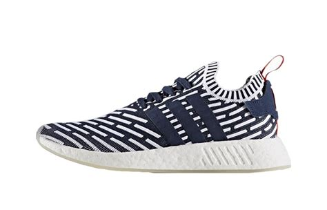 Adidas Nmd R2 Glitch Navy Original Adidas Nmd R2 Navy Glitch Fastsole Co Uk