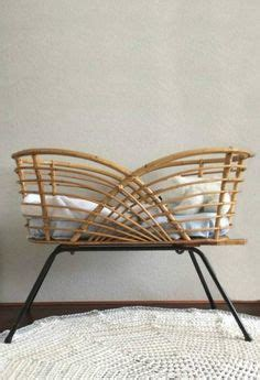 antique thonet bentwood baby crib kinderwiege  baby