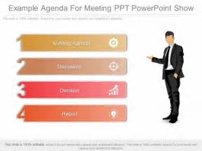 powerpoint template show exle agenda for meeting ppt powerpoint show