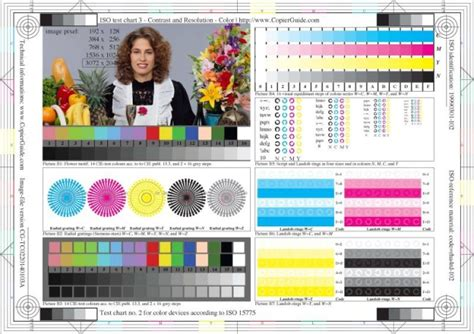 test pattern xerox printer and multifunction device mfp testing methods