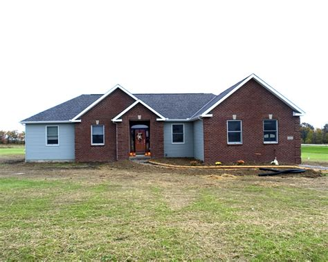 brick and siding houses brick and siding ranch home njw construction