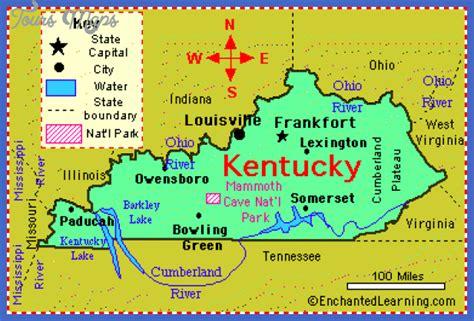 state of kentucky map map of kentucky toursmaps