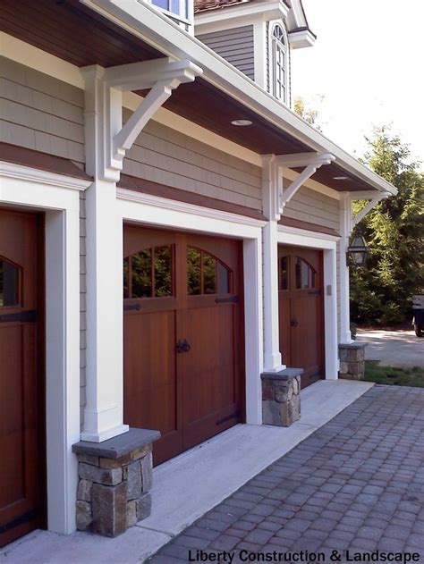3 car garage door rustic 3 car garage with half rounded windows above the