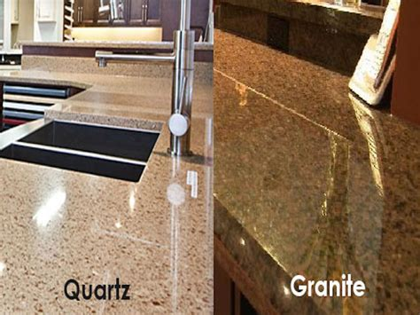 Granite Vs Quartz Countertop by Quartz Vs Granite Countertops Design Informations
