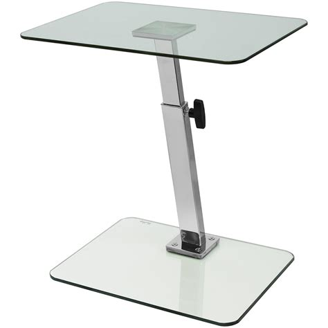 glass laptop desk glass laptop computer netbook stand desk table tray