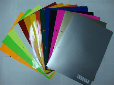 Kertas Stiker Vinyl A4 16pcs lot 4 different color pu flex a4 paper iron on vinyl transfer paper pu heat transfer