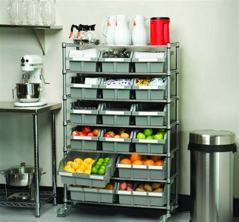 shelves with bins storage shelves with bins ideas solution for your