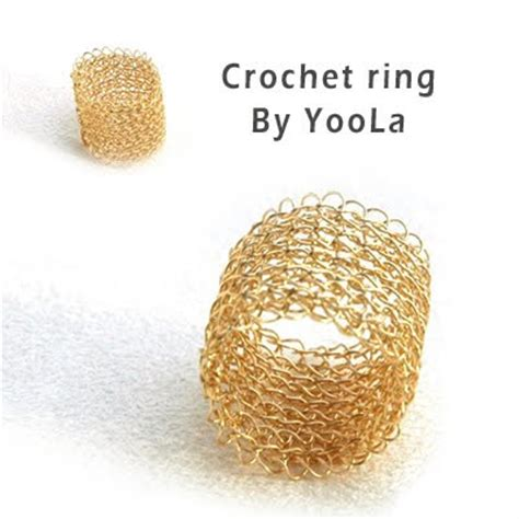 Wedding Ring Sle Designs by Crochet Ring Pattern