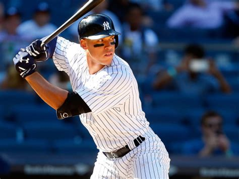 Aaron Judge Off To Historic Start To Begin Yankees Career Bronx - is aaron judge the next babe ruth or the next jeremy lin