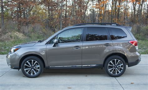 subaru forester 2017 review 2017 subaru forester tries to stay ahead of the