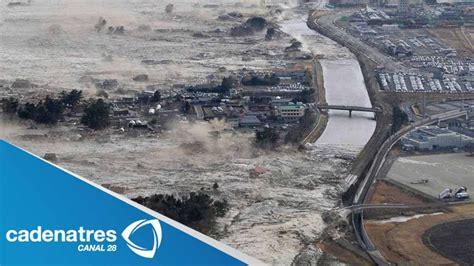 imagenes fuertes del tsunami en japon nuevas im 225 genes del tsunami de jap 243 n video youtube