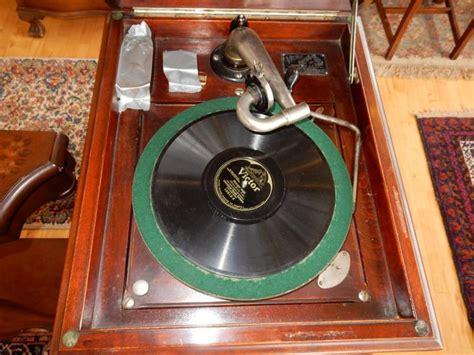 Antique Floor L by Antique Floor Model Crank Victor Victrola Phonograph M
