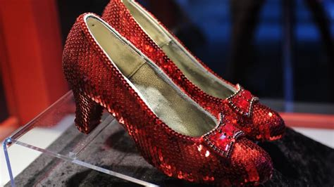 ruby slippers auction price ruby slippers from the wizard of oz going up for
